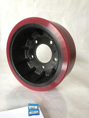 AGV Polyurethane Tyred Wheel